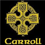 Carroll Celtic Cross (Gold)