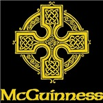 McGuinness Celtic Cross (Gold)