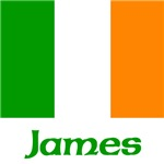 James Irish Flag
