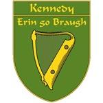 Kennedy 1798 Harp Shield