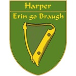 Harper 1798 Harp Shield