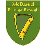 McDaniel 1798 Harp Shield