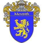 Meredith Coat of Arms (Mantled)