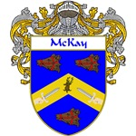 McKay Coat of Arms (Mantled)