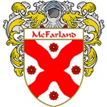 McFarland Coat of Arms (Mantled)