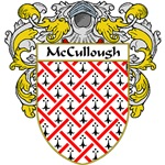 McCullough Coat of Arms (Mantled)