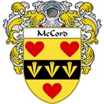 McCord Coat of Arms (Mantled)