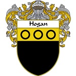 Hogan Coat of Arms (Mantled)