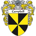 Campbell Coat of Arms (Mantled)