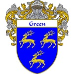 Green Coat of Arms (Mantled)
