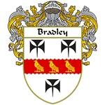 Bradley Coat of Arms (Mantled)