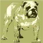 Brown Tone Bulldog