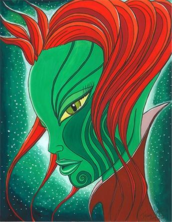 Celtic Alien