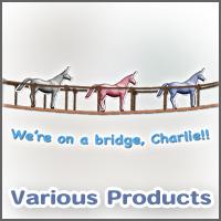We're on a bridge, Charlie!!