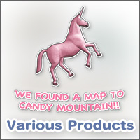 We found a map to Candy Mountain!!  Pink unicorn!