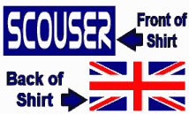 Scouser in Blue and Union Jack