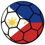 Filipino Flag Soccer Ball