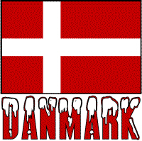 Danmark Flag & Word