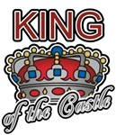 Father's Day King of the Castle T-shirts & Gifts