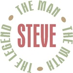 Steve The Man The Myth The Legend T-shirts Gifts