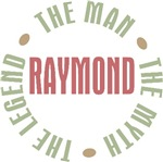 Raymond the Man the Myth the Legend T-shirts Gifts