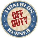 Off Duty Triathlon Runner T-shirts Gifts