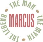 Marcus the man the myth the legend T-shirts Gifts