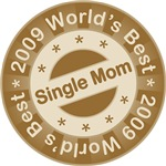 2009 World's Best Single Mom Tees Gifts