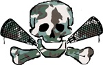 Lacrosse Skull Camo