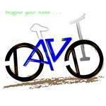 David blue bike
