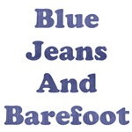 Blue Jeans And Barefoot