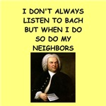 a funny bach joke on gifts and t-shirts.