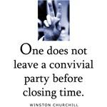 Convivial party
