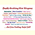 Bush Slogans - Goodies