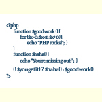 PHP Rocks - Goodies