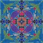 Exuberant Art Mandala
