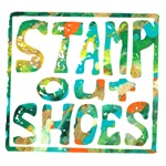 Stamp Out Shoes - Happy