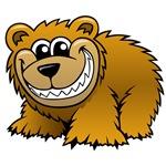 Cartoon Grizzly Bear