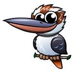 Cartoon Kookaburra