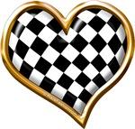 Racing Heart Gold