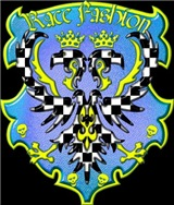 Race Fashion Coat of Arms Blue