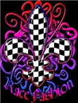 Fleur de lis Racing Design 1