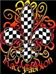 Fleur de lis Racing Design 2
