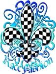 Fleur de lis Racing Design 4
