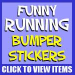 Running Bumper Stickers