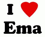I Love Ema