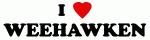 I Love WEEHAWKEN