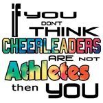 Cheerleaders are Athletes