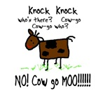 knock knock cow