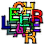 Scrambled Letters Cheerleader